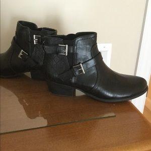 Black Unisa booties